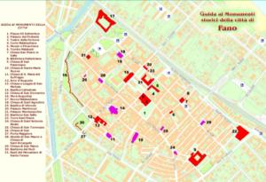 Fano mappa