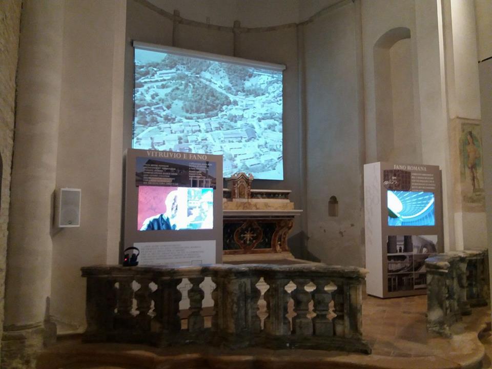 Museo della via Flaminia a Fano - interno