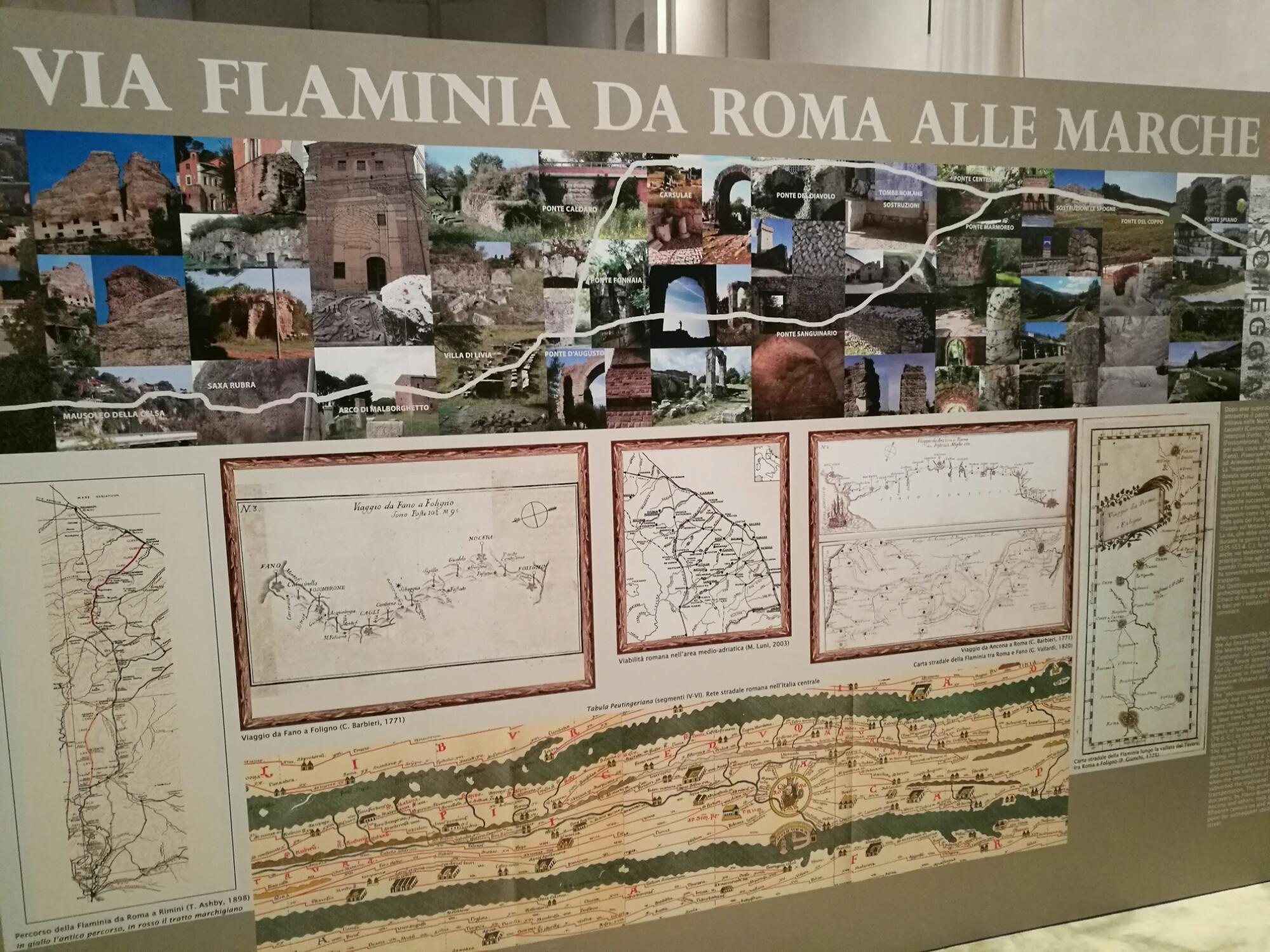 Museo della via Flaminia a Fano - banner